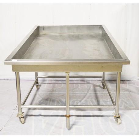 Столы  для выкладки рыбы на льду б/у